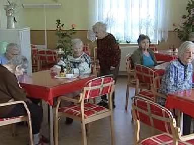 Klienti sociálního ústavu v Hajnici
