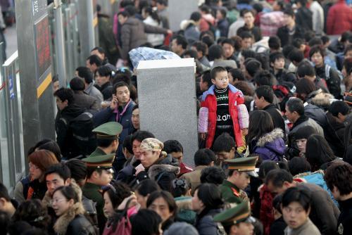 Nádraží v Číně