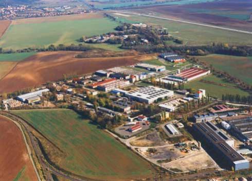 Průmyslová zóna ve Vyškově