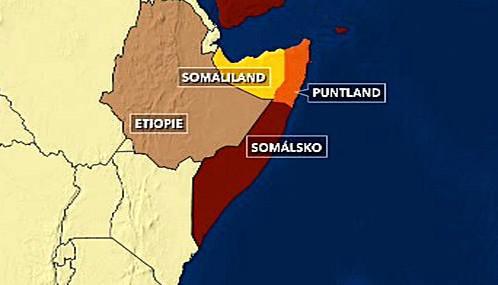 Somálsko a Etiopie