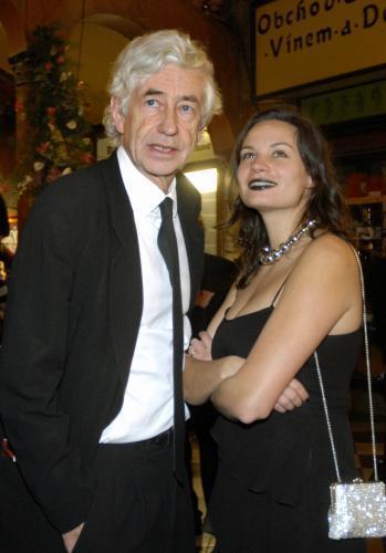Jan Kaplický s manželkou