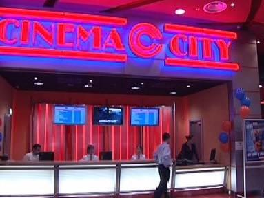 Logo firmy Cinema City