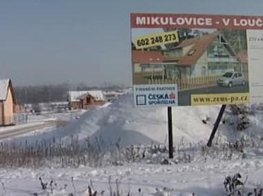 Stavební parcely v Mikulovicích