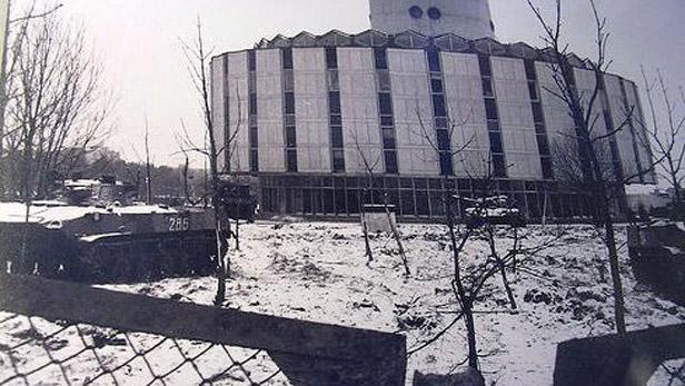 Sovětská vojska obsadilla média v Litvě