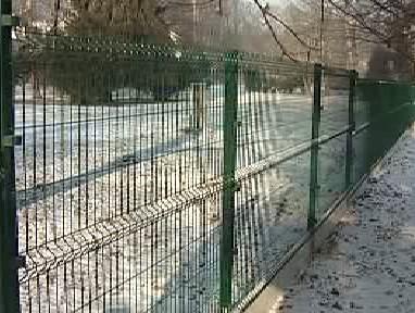Plot uzavírající  kaplický městský park