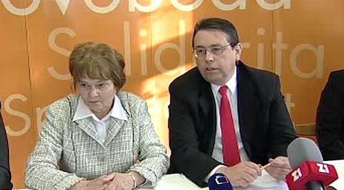 Hana Orgoníková a Lubomír Franc