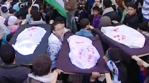 Oběti konfliktu v pásmu Gazy