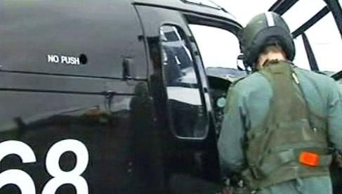 Britský záchranný vrtulník