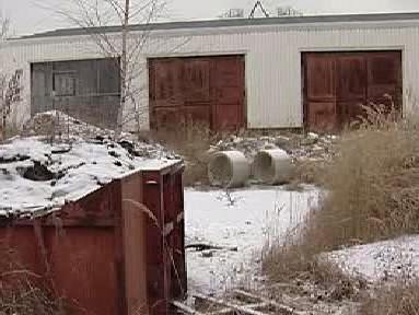 Skládka odpadu ve Lhenicích