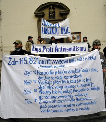 Shromáždění na podporu Izraele