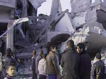 Konflikt v Gaze