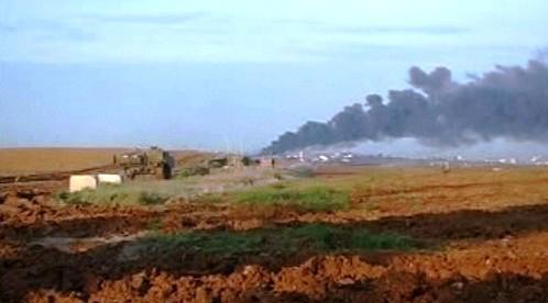 Výbuchy v pásmu Gazy