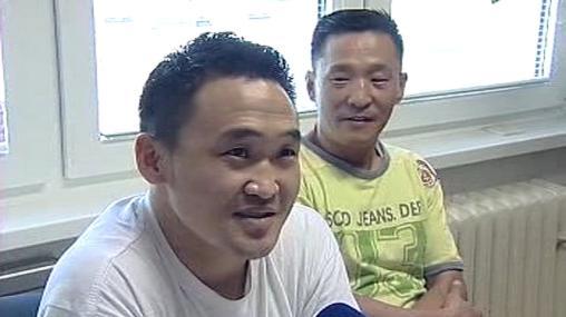 Mongolští dělníci v novém domově