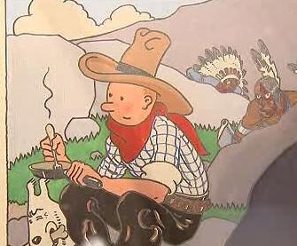 Legendární komiks Tintin
