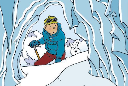 Belgický komiksový hrdina Tintin