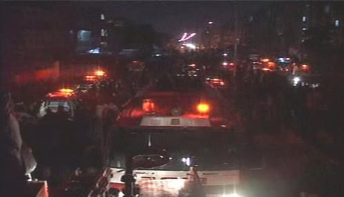 Pákistánští hasiči