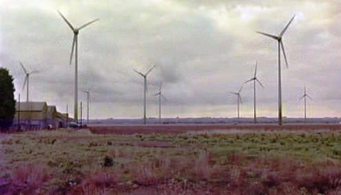 Větrná elektrárna v britském Conisholme
