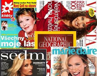 Periodika vydavatelství Sanoma