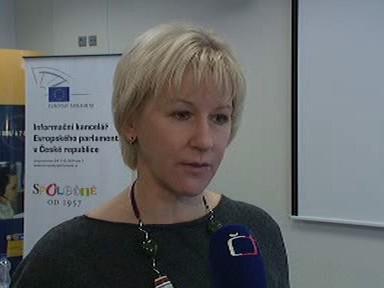 Eurokomisařka Margot Walströmová