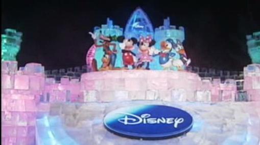 Disneyland z ledu