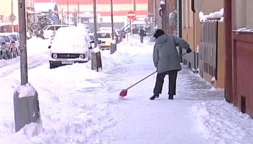 Pardubice pod ledem