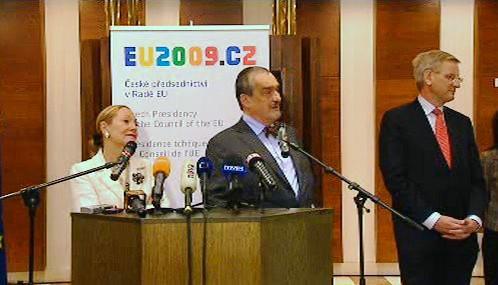 Brífink po návratu delegace EU