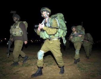 Izraelští vojáci v pásmu Gaza