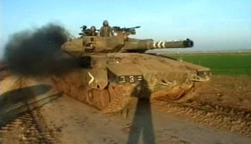 Izraelský tank
