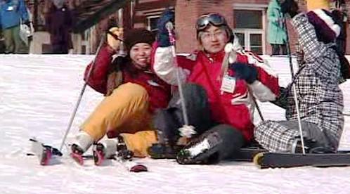 Čínští lyžaři