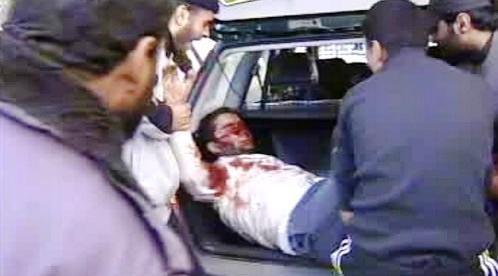 Zranění civilisté v Gaze