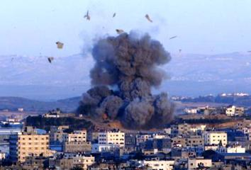 Výbuch v Gaze