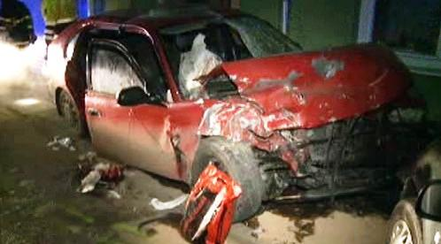 Nehoda v obci Blučina