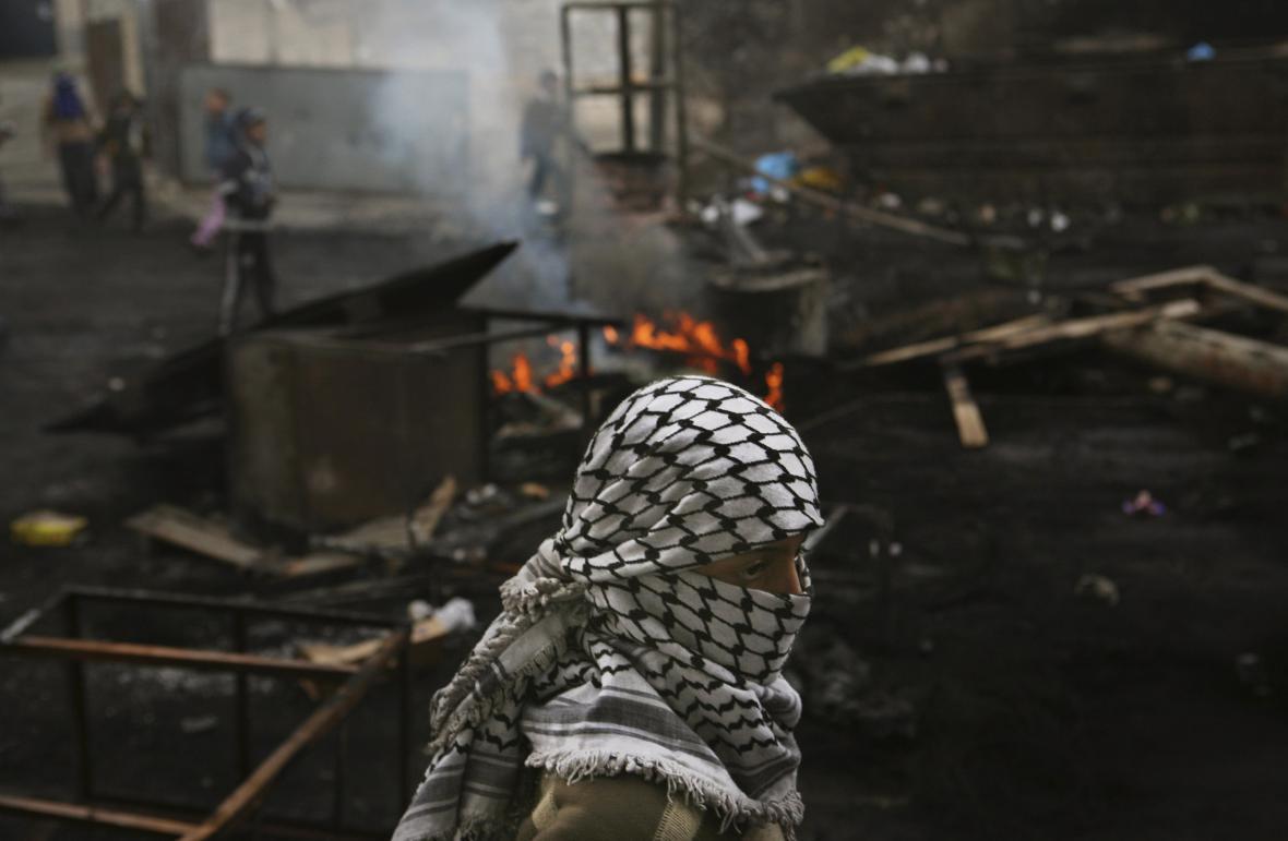 Izraelci ostřelovaná Gaza
