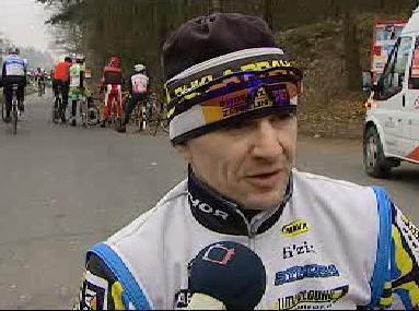 Cyklista Milan Kadlec