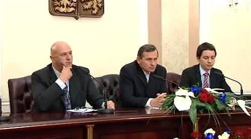 Tomáš Julínek a Jiří Čunek