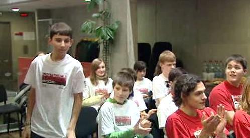 Děti z Expedice Mars 2008
