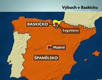 Výbuch v Baskicku