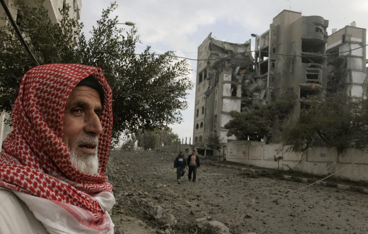 Izraelské bombardování Gazy