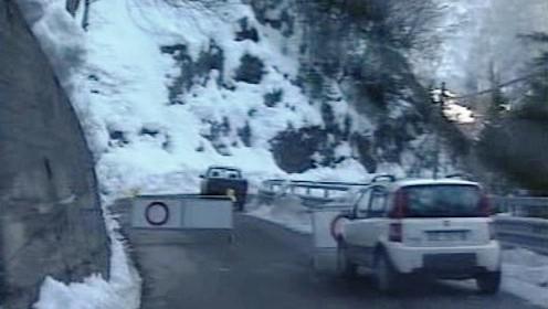 Sníh komplikuje dopravu v Itálii