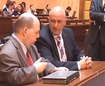 Tomáš Julínek a Tomáš Cikrt