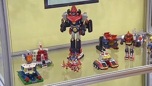 Výstava japonských robotů