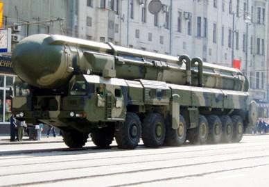 Ruská raketa RT-2PM Topol