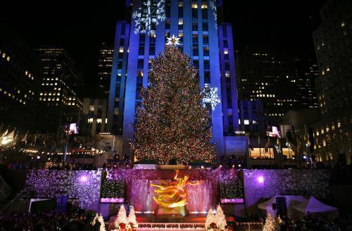 Vánoční strom v New Yorku