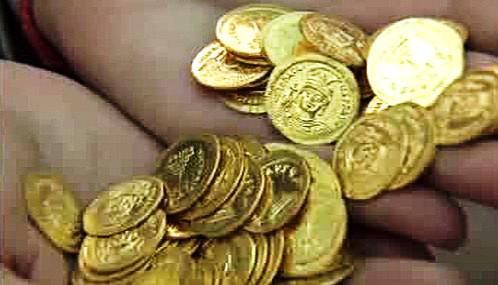 Staré mince nalezené v Jeruzalémě