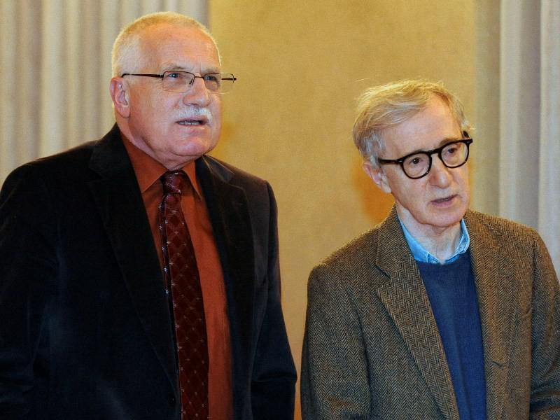 Václav Klaus a Woody Allen