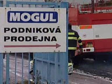 Zásah při požáru v kolínském Paramu