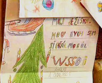Dopis Ježíškovi