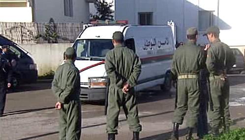 Abdalláh Ahríz přijíždí k soudu