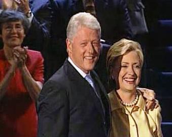 Manželé Clintonovi