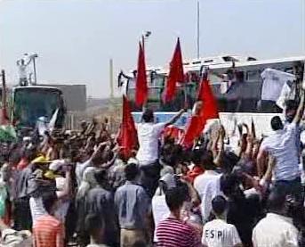 Palestinci vítají propuštěné vězně